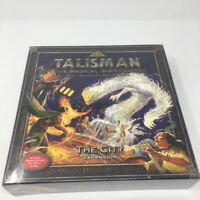 TALISMAN The Magical Quest Game 4th Edition THE CITY Expansion Board Game