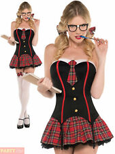 Ladies School Girl Costume Sexy Adults St Trinians Fancy Dress