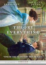 The Theory of Everything (2014) DVD Eddie Redmayne Stephen Hawking