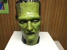 1965 Frankenstein Head Ceramic bank 1965 UPC Universal pictures VERY RARE WOW