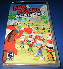 Ape Escape Academy Sony PSP *Factory Sealed! *Free Shipping!