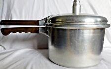 Vintage National Presto Model 60 Stove Top Pressure Cooker 4 Quart