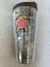 Maryland Terrapins Realtree 20 oz Tumbler with Brown Lid - by Tervis