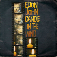 "Elton John Candle In The Wind (Live) Both Tracks Are Live Versions UK 45 7"" sgl"