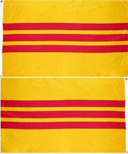 3x5 South Vietnam 2 Faced 2-ply Wind Resistant Flag 3x5ft