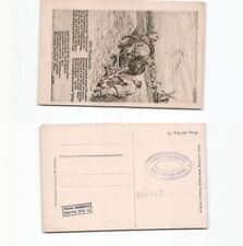 (b94178)   Ansichtskarte Spruchkarte wir Barbaren, ungebraucht,