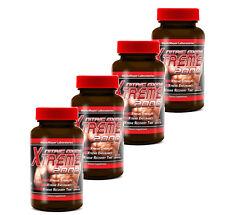 4x Nitric Oxide Xtreme 2000 Extreme L-Arginine Strength Endurance Build Muscle