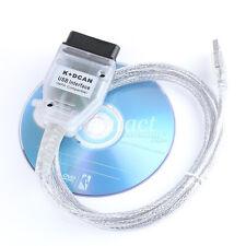 Hot USB cable de diagnóstico OBD K + DCAN plomo Ediabas Inpa SSS Progman para bmw