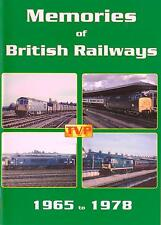 Memories of British Railways 1965-1978 Dvd: Diesel Era Warships Westerns Hymeks