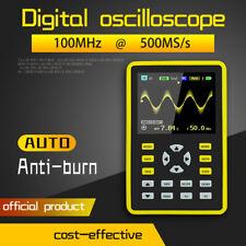 """2.4"""" Oscilloscopio PALMARE LCD DIGITALE 5012H IPS 100MHz 500MS/s Portatile T0N3"""