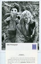 JOAN COLLINS LINDA EVANS MUD WRESTLING DYNASTY ORIGINAL 1986 ABC TV PHOTO