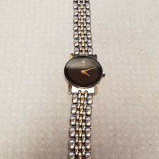 Jacques EdHo Paris Ladies Watch 2226  black crome gold wristband dress casual