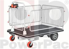 PowerPac AKKU-Plattformwagen Typ AP500 Transportwagen Handwagen Transportkarre
