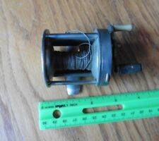 precision level winding reel fishing reel vintage made in the Usa