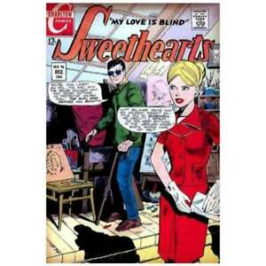Sweethearts (1948 series) #96 in Very Fine minus condition. Fawcett comics [*ey]