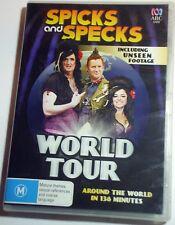 Spicks and Specks World Tour - Adam Hills Myf Warhurst - R4 DVD - posted