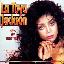 La Toya Jackson He's my brother (compilation, 12 tracks) [CD]