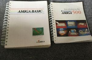 Amiga Books Amiga Basic Plus Amiga 500  Good Condition