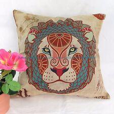 US SELLER - decor pillow covers Leo Zodiac Symbol cushion cover pillowcase