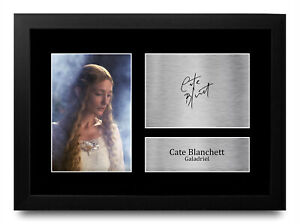 Cate Blanchett Lord of the Rings Signed Autograph Picture Print for Movie Fan