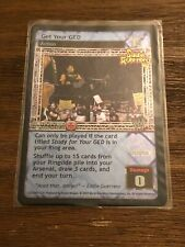 WWE Raw Deal CCG Eddie Guerrero Get Your GED