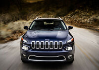 2014 JEEP CHEROKEE NEW A3 CANVAS GICLEE ART PRINT POSTER FRAMED