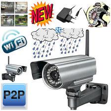 Telecamera Wireless  IP Camera da Esterno WIFI Videosorveglianza Notturna IPCAM