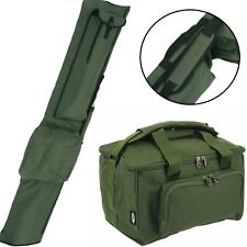Carp Fishing Carryall and 3 Rod Holdall Quickfish by NGT Tackle Bag Holdall