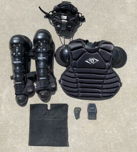 DIAMOND SPORTS Umpire Gear, DCP-U LITE Chest Protector ix3-Ump Mask DLG-UMP 170