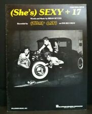 Shes Sexy + 17 Sheet Music Stray Cats Piano Guitar Voice Rockabilly 80s POP F2J