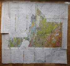 Geologic Map MISSISQUOI COUNTY Quebec 1946 Canada ST1002001018