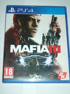 "Mafia III 3  Playstation 4 PS4 ""FREE P&P"""