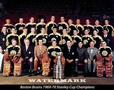 NHL 1969 -  70 Boston Bruins Stanley Cup Champs Team Picture Color 8 X 10 Photo