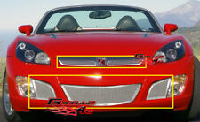 Fits Saturn Sky Red Line Stainless Mesh Grille Combo 07-09