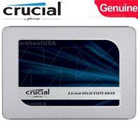 Crucial MX500 250GB 3D NAND SATA III 3.0 Internal 2.5-Inch SSD Solid State Drive