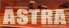 Vauxhall Astra Hatchback 2009-10 UK Market Preview Event Mailer Brochure