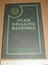 Star Drilling Machines Akron Oh Catalog 1917 Tools Well Drill hit n miss engines