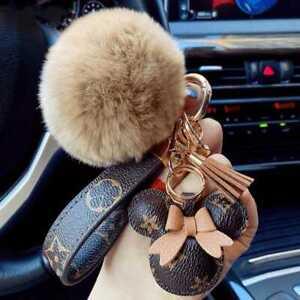 Louis Vuitton Keychain Clip Bag Pendant  Cartoon Kawaii Hooks