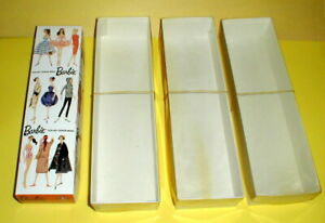 3 Doll Display Box - Case - FOR BARBIE OR HONG  KONG LILLI OR BILD LILLLI