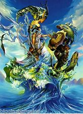 """Glow In The Dark """"Queen Of The Sea"""" Boxless Puzzle Ocean Mystical Magic *NEW*"""