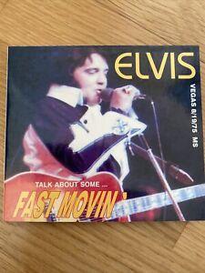 CD Elvis Presley Fast Movin' Live 1975