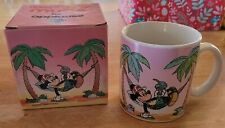 Walt Disney Mugs by applause - Mickey Mouse in a Hammock with box - 1986