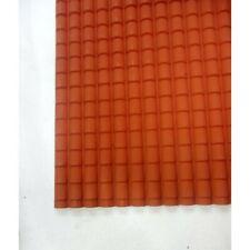 Foglio Rigido Tegole Grandi 35 x 50 Cm - Tetto Casa Presepe