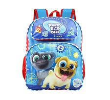 "Disney 16"" PUPPY DOG PALS Bingo & Rolly School Backpack"
