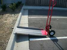 "New Aluminum Hand Truck Dollie Dolly Ramp Portable 24"" X 48"" Strong"