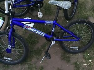 "bmx bike, SE  Bronco SE Racing series, 20"" wheels"