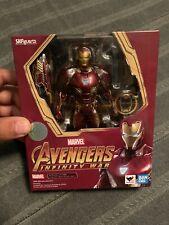 Authentic Bandai Marvel Avengers: Infinity War S.H. Figuarts Iron Man Mark 50 L
