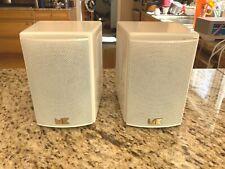 M&K Sound Miller & Kreisel M4T Tripole Surround Sound Speakers - White A