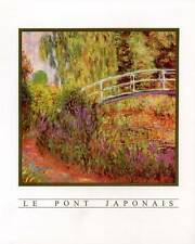 Le Pont Japonais (Japanese Bridge) by Claude Monet - 8x10 In. Art Print