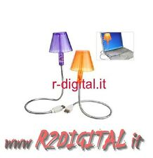 LAMPADA USB LIGHT 6 LED PC NOTEBOOK FLESSIBILE SNODABILE LUCE TASTIERA